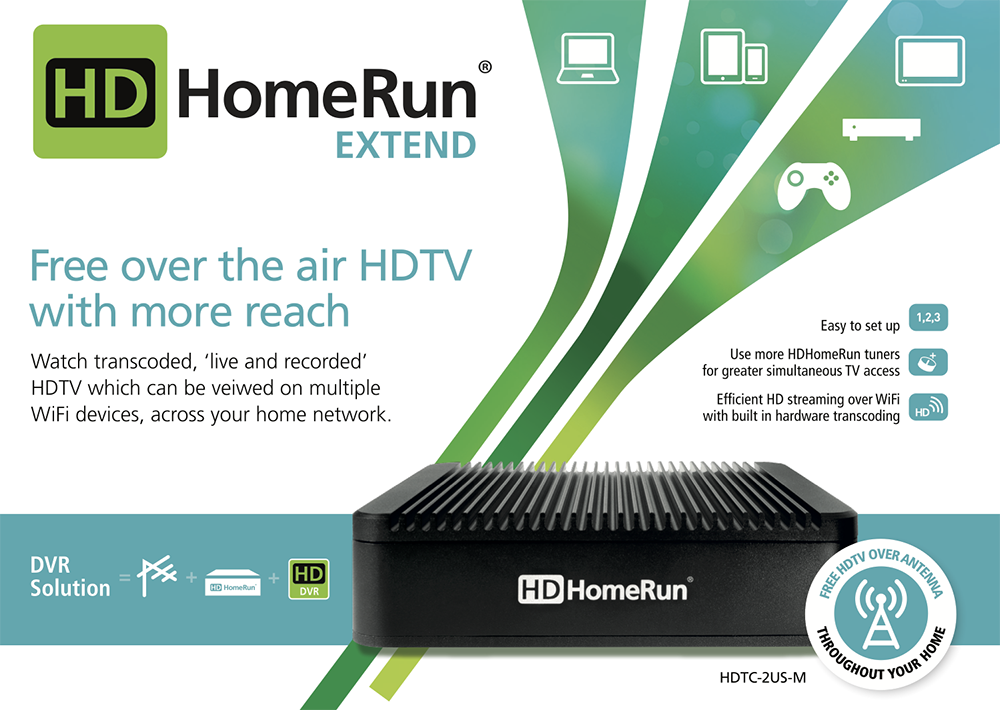 HDHomeRun EXTEND (P/N: HDTC-2US-M) – SiliconDust SHOP