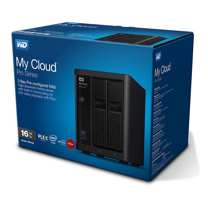WD Pro2100 box