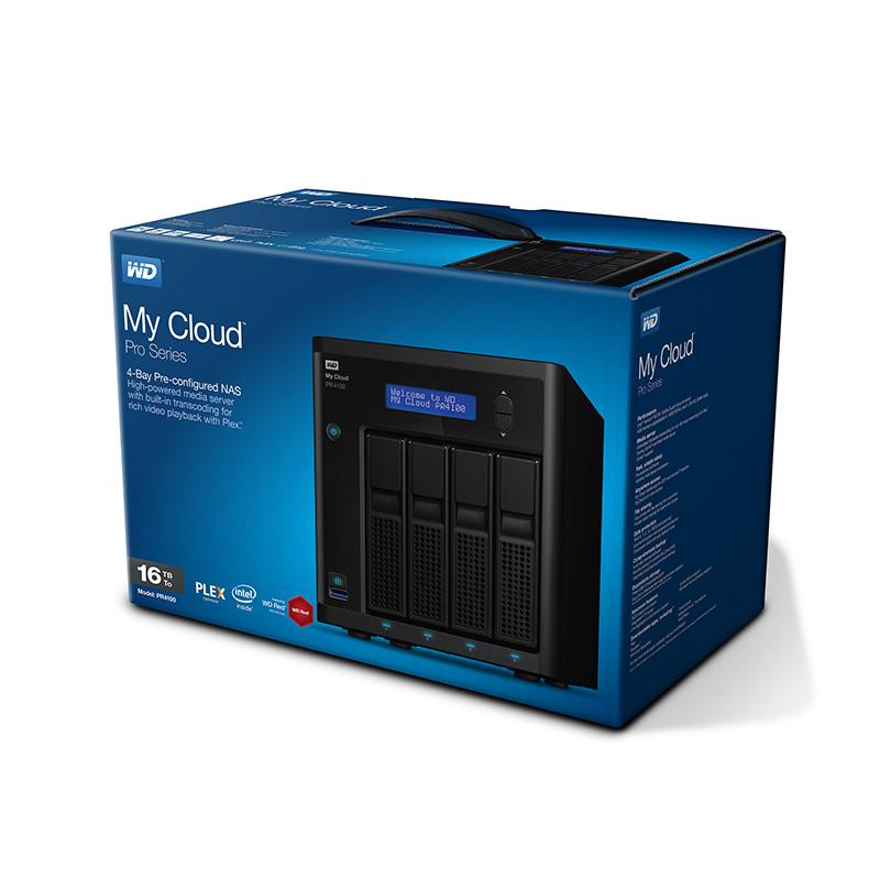 WD Pro2400 box